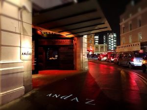 Andaz night outside